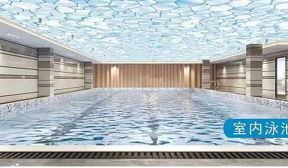 互动吧-我已报名新开蓝堡健身游泳中心5000平超大室内恒温阳光玻璃顶游泳池