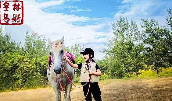 免费活动【皇林马术俱乐部】儿童马术新体验,亲子活动乐悠悠