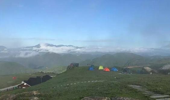 10-2~3黄坦安基山露营(滑翔伞)