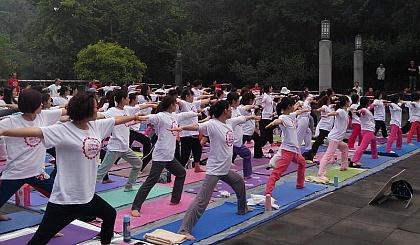 互动吧-德阳蕙兰瑜伽爱好者公园联谊活动