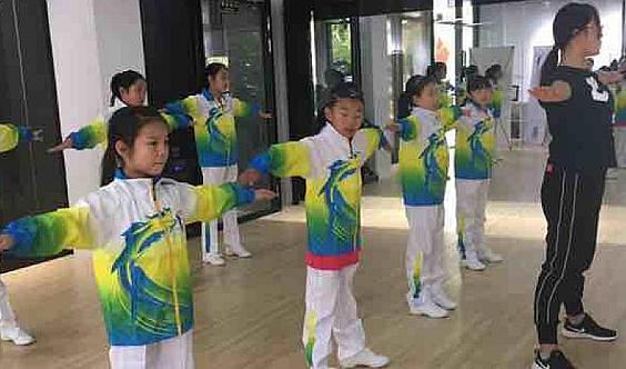 4节青少儿舞蹈课程拉丁摩登街舞啦啦操