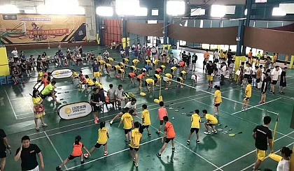 互动吧-羽毛球,篮球,网球培训