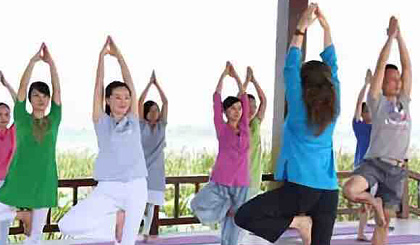 互动吧-崂山九水瑜伽行