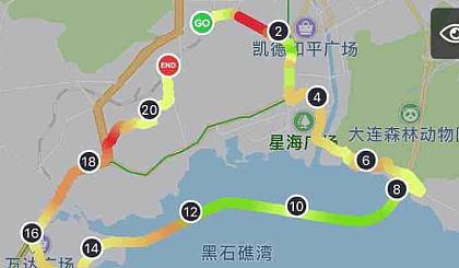 互动吧-星海跨海大桥跑步折返