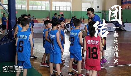 互动吧-动佳体育篮球训练营火热招生