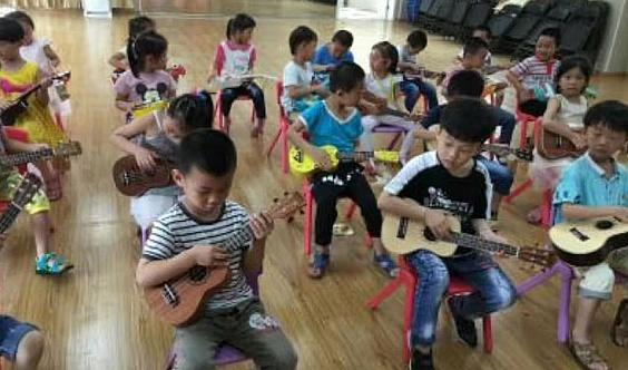 少儿音乐🎵启蒙,尤克里里培训班招生。