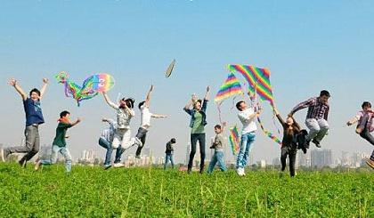 互动吧-免费亲子活动——风筝涂鸦