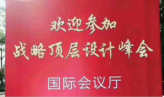 企业家战略落地【商道·战略顶层设计金融峰会】