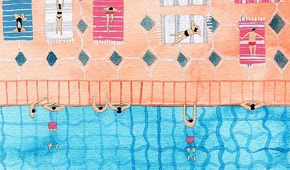 乐动游泳健身面向全城招募500名创始会员!!