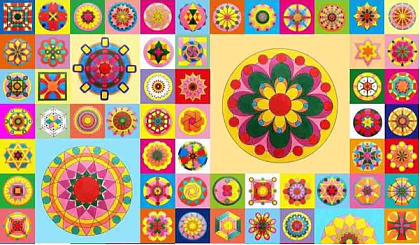 互动吧-幸福DNA曼陀罗彩绘艺术疗愈体验沙龙