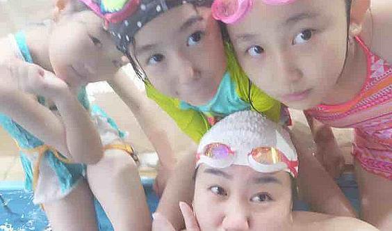 钛度游泳健身寒假儿童训练营开课啦