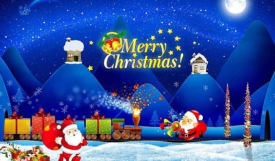 温馨圣诞节,尽在二画室