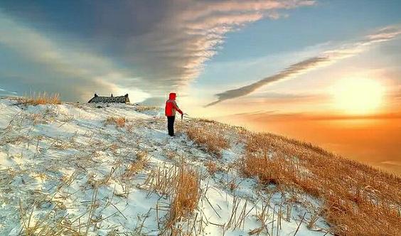 1.3~1.5徒步户外天堂武功山,行摄云中草甸,看白雪皑皑!