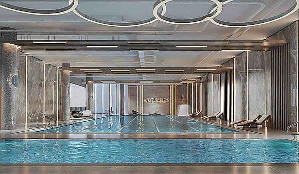 互动吧-喜讯:郫都区图书馆旁新开2300平游泳健身中心,创始会员招募中