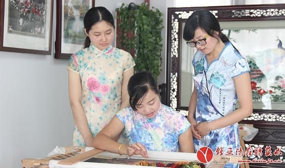 零基础苏绣公益讲堂、手工刺绣学习公益体验预报名
