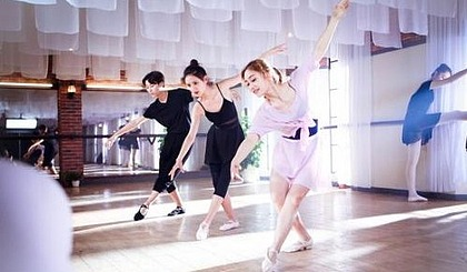 互动吧-悦动πの成人形体舞蹈班
