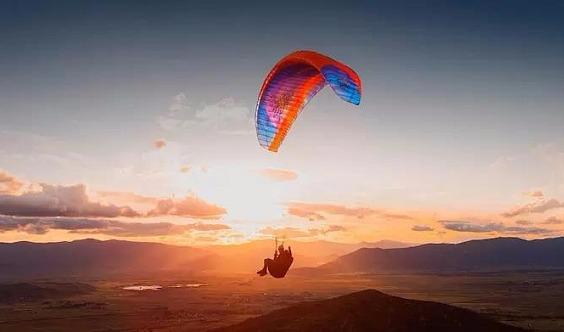 【团队定制】飞行日记 | 东海滑翔伞·栲栳山徒步·植物辨识