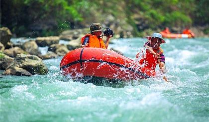 互动吧-【漂流湿身】畅爽漂流,清凉仙山谷,耍水我们是认真的