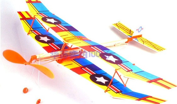 小小科学家-DIY滑翔机