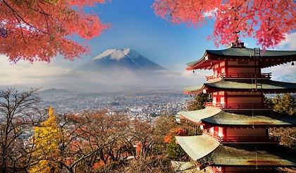 互动吧-金秋好时节,特惠游日本!