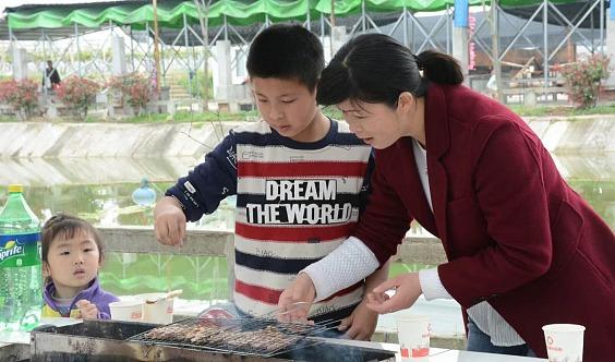 武汉周边游,亲子游,埋锅造饭,自助烧烤,果蔬采摘