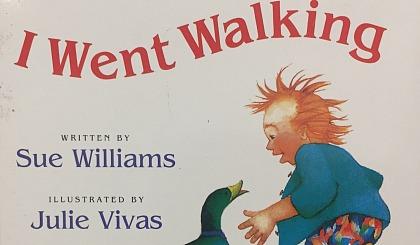 互动吧-I Love Reading**期 英文绘本 I Went Walking