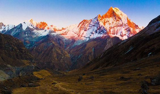 [ABC+布恩山]尼泊尔 布恩山 安纳普尔纳登山大本营ABC——徒步喜马拉雅