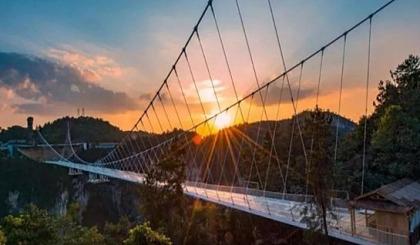 互动吧-12.15勇敢者的挑战 | 挑战华东地区第一高空景观玻璃桥—磐安灵江源森林公园