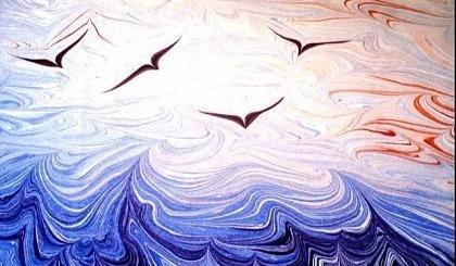 互动吧-小番茄特色课堂——土耳其湿拓画