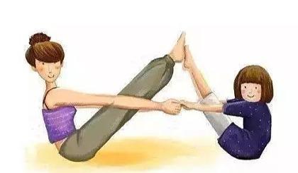 互动吧-伽人普拉提&瑜伽生活馆亲子瑜伽课