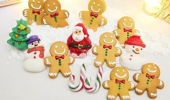 12.23周日下午  免费! 开发区万科翡翠心湖营销中心圣诞糖霜姜饼礼盒DIY