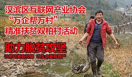 """互动吧-关于汉滨区互联网产业协会参与""""万企帮万村""""精准扶贫双柏村的活动通知"""
