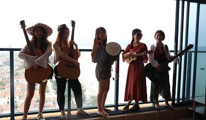 互动吧-广州天河| 免费体验吉他尤克里里课 零基础欢迎加入学吉他小u提升正能量~