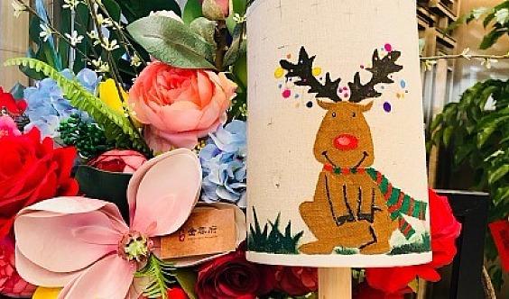 【红星天铂】手绘暖心台灯,照亮美好生活