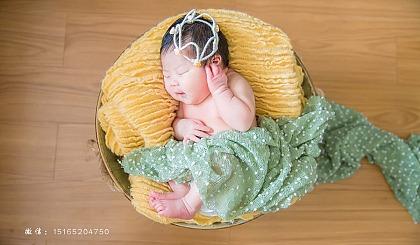 互动吧-青岛新生儿摄影团购,免费上门拍摄,免费理胎发