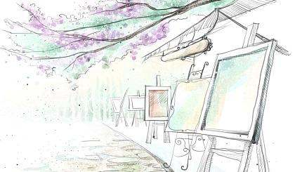 互动吧-🌸青松荟国际私立美校 🌸  夏季大型户外写生活动