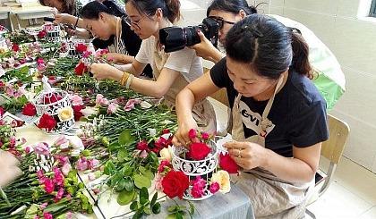 互动吧-老闵行地区,政府补贴《艺术插花》课程即将开班!!