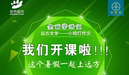互动吧-滁州远方文学—小桔灯作文暑期班体验课时间出炉啦!