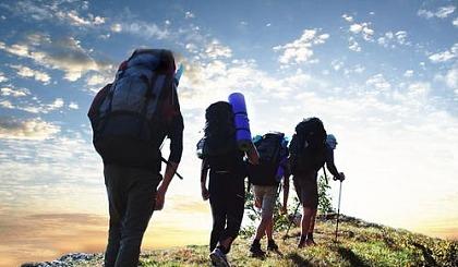 互动吧-沁源县首届万人徒步太岳山脉
