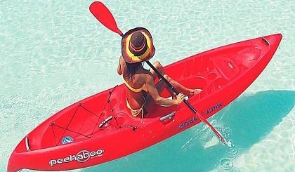 互动吧-惠州桑洲岛露营、沙滩烧烤、帆船出海、SUP花样划浆板、浮潜体验、荧光音乐晚会、快艇冲浪、海上日出 两日游