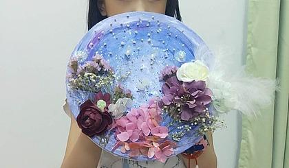 互动吧-综合手工设计●创意花卉装饰画!
