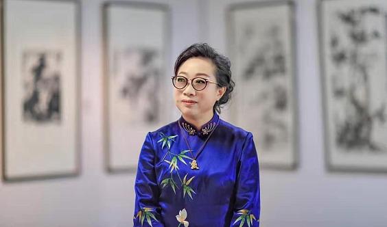 中国当代著名女画家沈子琪简介