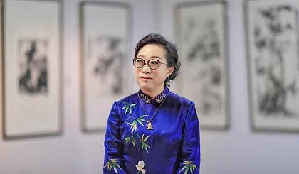 互动吧-中国当代著名女画家沈子琪简介
