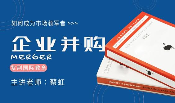 """中国最早的投资银行专家蔡虹《""""中国式并购""""对策及实战案例》"""