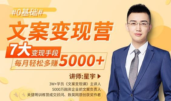 【爆款】3万学员力荐变现文案课:每天35分钟,让你每月多赚5000+(送渠道)。