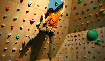 互动吧-攀岩,展示不一样的自我