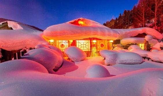 【雪乡+漠河●多期】童话世界-冰雪王国の雪乡-雪谷-激情穿越-户外纯玩,附漠河行程!