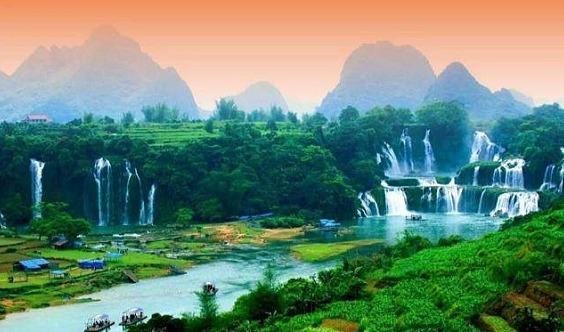 春节【越南】初一到初七-慢慢走进这个国家广西德天大瀑布~越南北越纯玩
