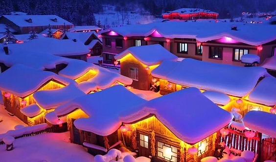 【周末雪乡】走进北国冰雪童话世界•雾凇岛•雪乡•雪谷•哈尔滨冰雪大世界•中央大街!