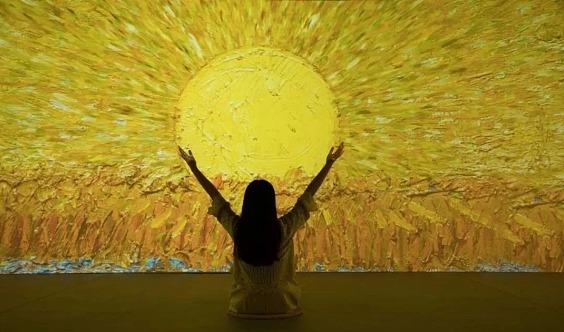 【单身精品专场】单身来一起欣赏最火爆的光影艺术展,学习有趣的自画像心理学!